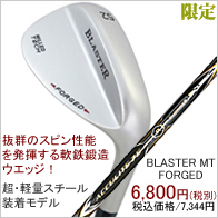 �E�G�b�W BLASTER MT FORGED ACCULITE75